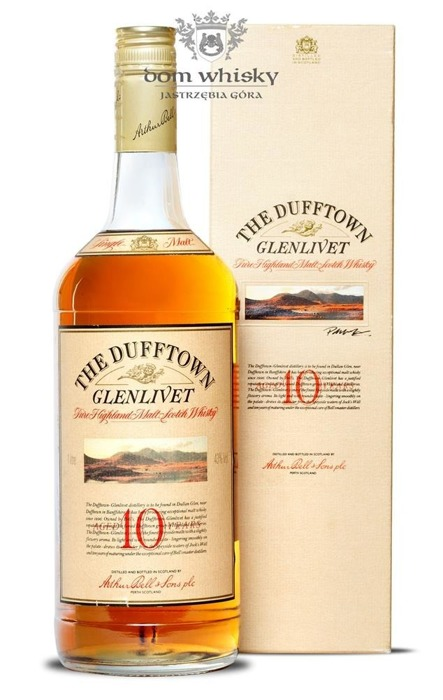 Dufftown Glenlivet 10-letni (Bottled 1980s) / 43% / 1,0l