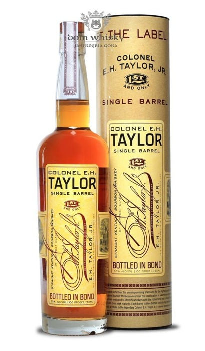 E.H. Taylor Single Barrel / 50% / 0,75l
