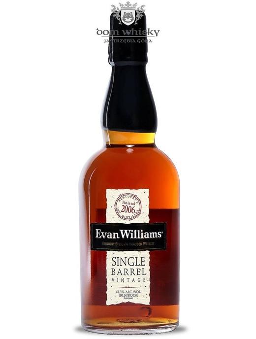 Evan Williams Single Barrel 2006 / 43,3% / 0,7l