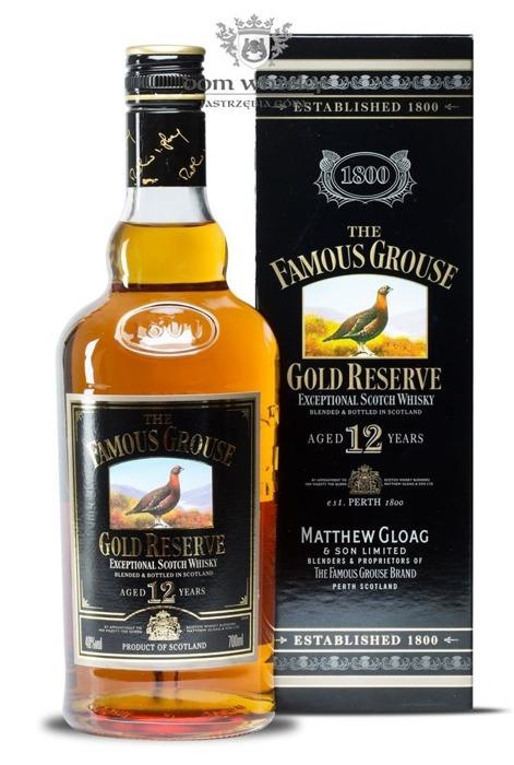 Famous Grouse 12 letni Gold Reserve Review  / 40% / 0,7l