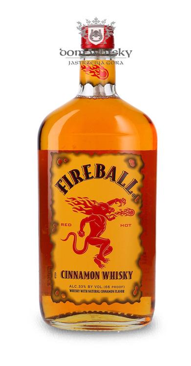 Fireball Cinnamon Whisky Liqueur / 33% / 0,7l