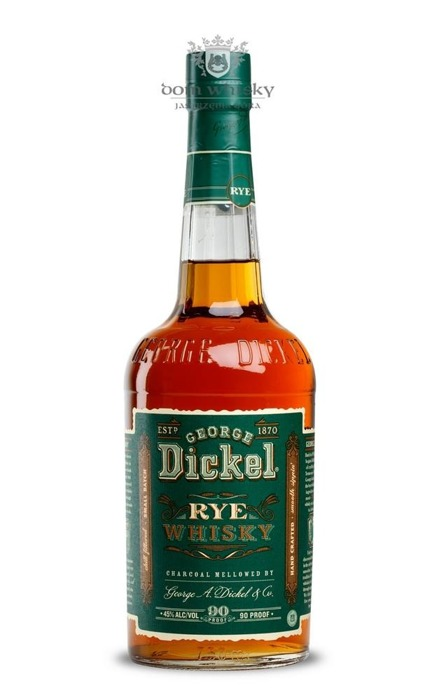 George Dickel Rye Green Label / 45% / 0,75l