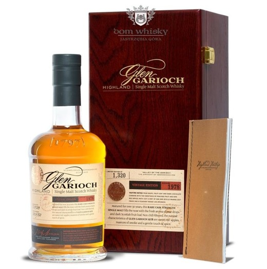 Glen Garioch 1978 Vintage, 30-letni (Bottled 2009)/ 57,8% / 0,7l
