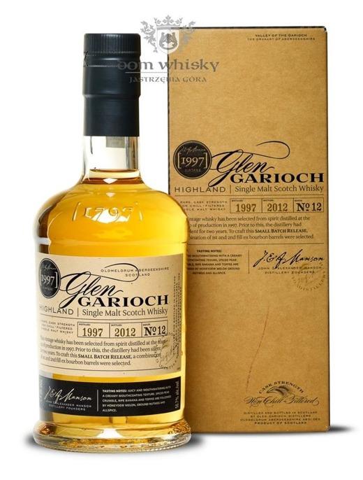 Glen Garioch 1997 (Bottled 2012) Batch No. 12 /56,7%/0,7l