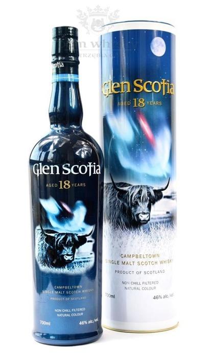 Glen Scotia 18-letnia / 46% / 0,7l