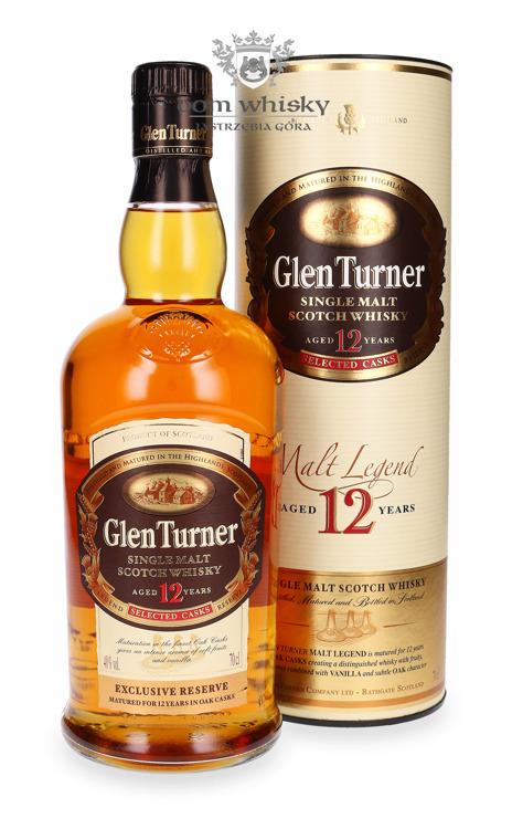 Glen Turner 12 letni / tuba / 40% / 0,7l