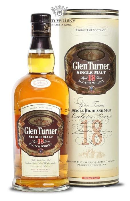 Glen Turner 18 letni / 40% / 0,7l