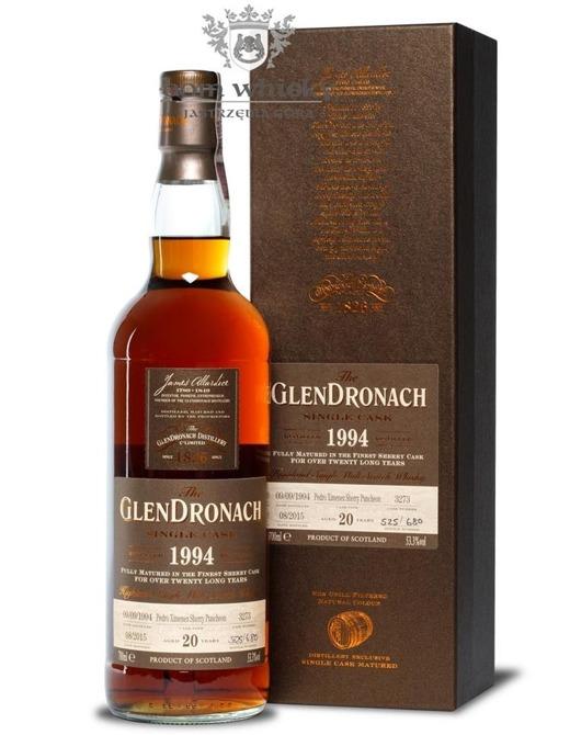 GlenDronach 20-letni (D.1994 B.2015)Single Cask #3273 /53,3%/0,7