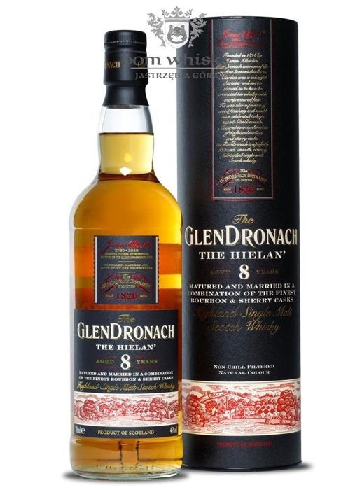 GlenDronach The Hielan' 8-letni / 46% / 0,7l