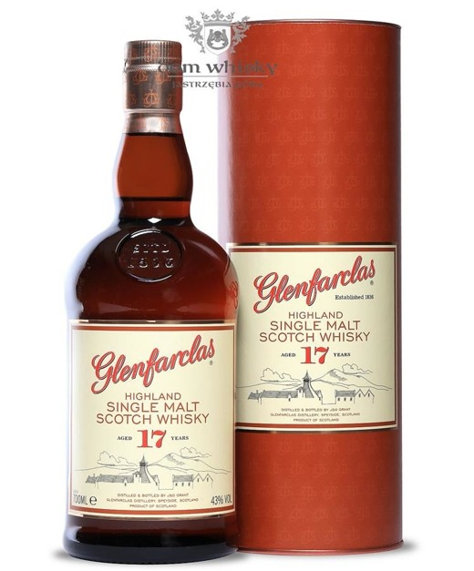 Glenfarclas 17-letni / 43% / 0,7l