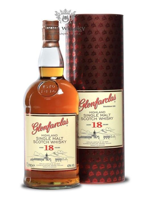 Glenfarclas 18-letni / 43% / 1,0l