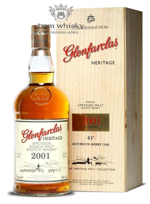 Glenfarclas 2001 Heritage (Bottled 2011), Sherry Cask / 45% / 0,7l