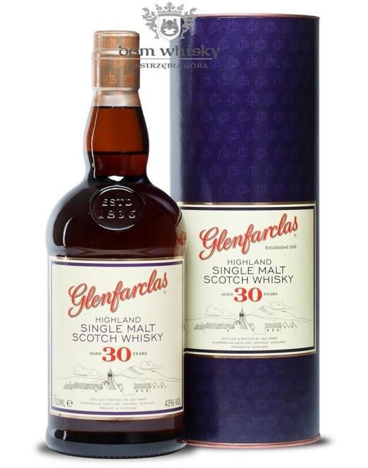 Glenfarclas 30-letni / 43% / 0,7l