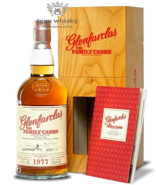 Glenfarclas The Family Casks 1977, Bottled 2014 / 40,2% / 0,7l