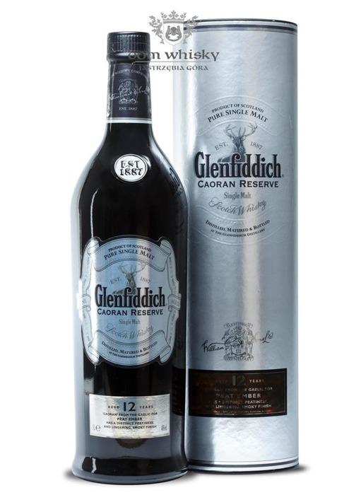 Glenfiddich 12-letni Caoran Reserve / 40% / 1,0l