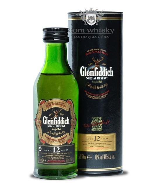 Glenfiddich 12-letni Special Reserve / 40% / 0,05l