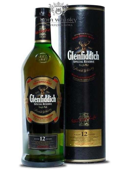 Glenfiddich 12-letni Special Reserve / 40% / 1,0l