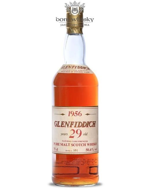 Glenfiddich 1956, 29-letni Intertrade / 50,6% / 0,75l