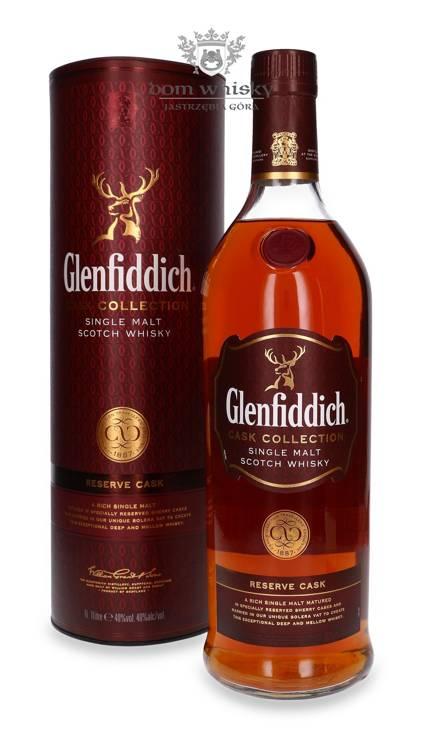 Glenfiddich Cask Collection, Reserve Cask / 40% / 1,0l