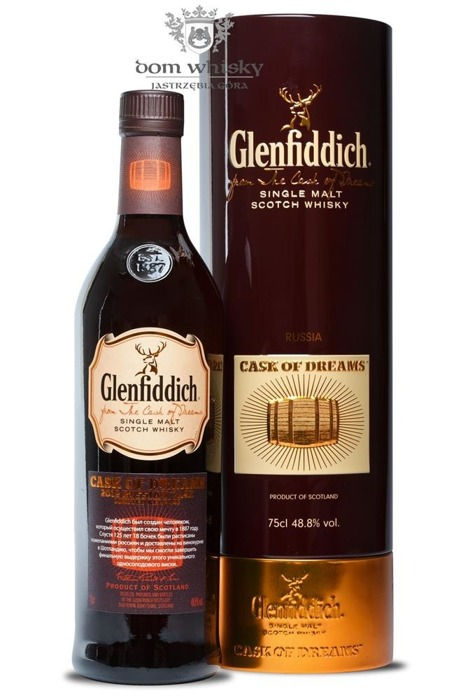 Glenfiddich Cask Of Dreams, 2012 Russian Cask/ 48,8% / 0,75l
