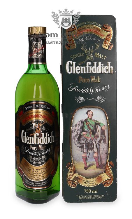 Glenfiddich Pure Malt Clan Macpherson / 43% / 0,75l