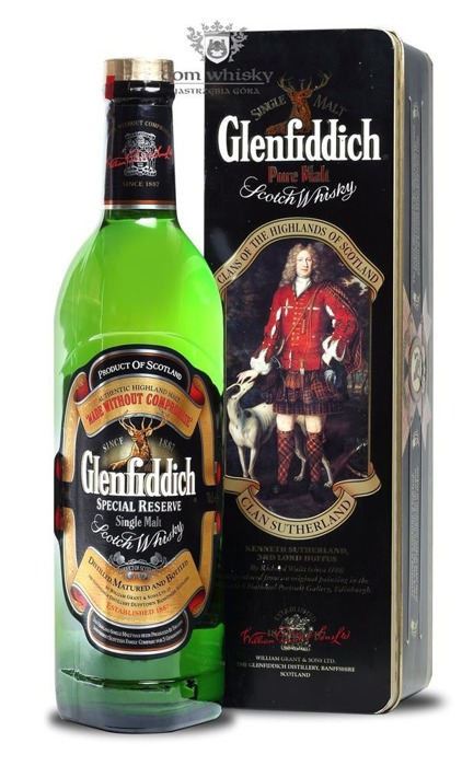 Glenfiddich Pure Malt Clan Sutherland / 43% / 0,7l