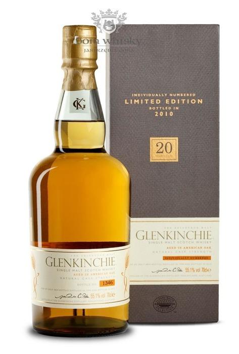 Glenkinchie 20-letni (D.1990, B.2010) / 55,1% / 0,7l
