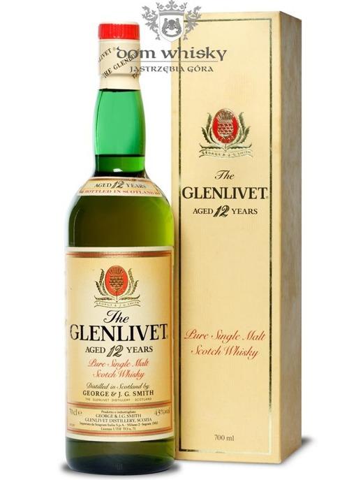 Glenlivet 12-letni / 43% / 0,7l