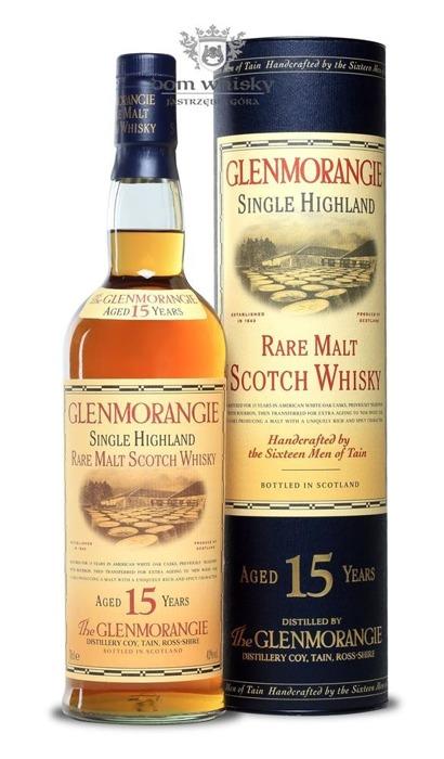 Glenmorangie 15-letni B.2006 / 43% / 0,7l