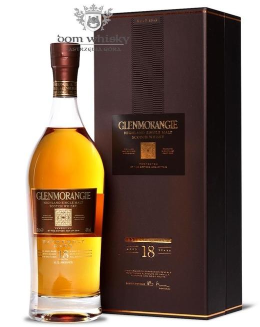 Glenmorangie 18-letni Extremely Rare / 43% / 0,7l