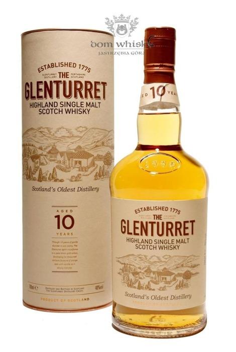 Glenturret 10-letni / 40% / 0,7l