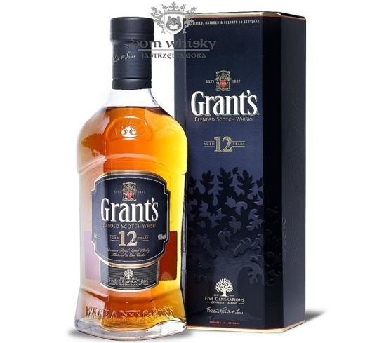 Grant's 12 letni / 40% / 0,7l