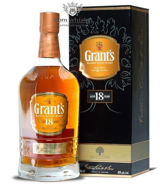 Grant's 18 letni / 40% / 0,7l