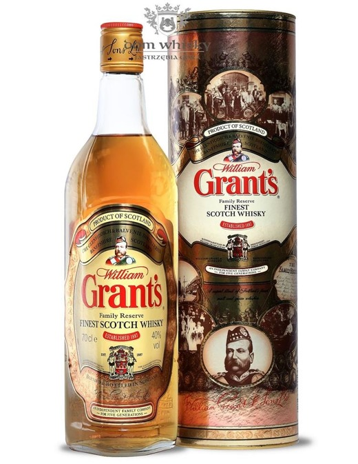 Grant's The Family Reserve Finest Scotch Whisky / 40% / 0,7l