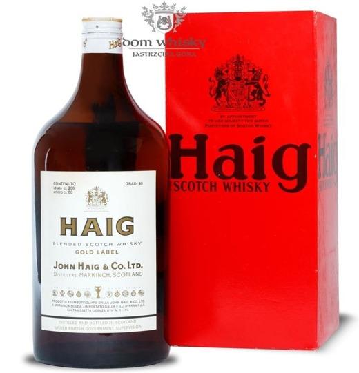 Haig Gold Label / 40% / 2,0l