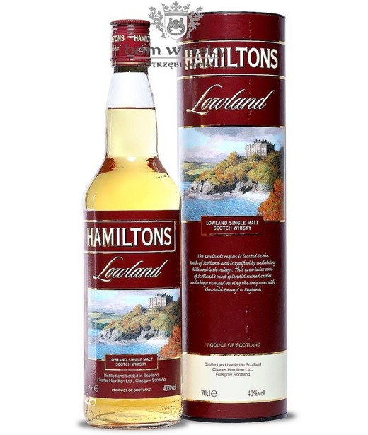 Hamiltons Lowland Single Malt Whisky / 40% / 0,7l