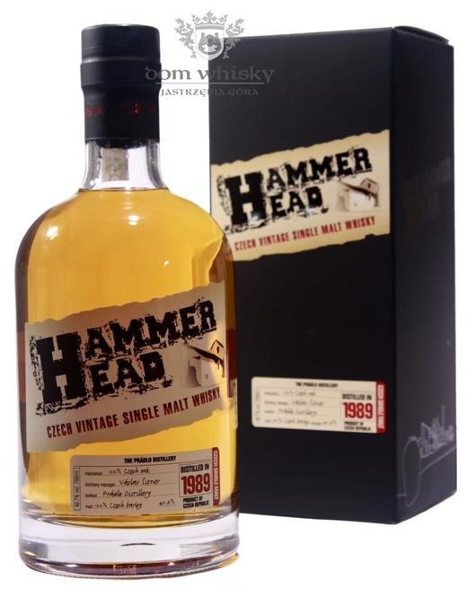 Hammer Head 20 letni Single Malt 1989 (Czechy) / 40,7% / 0,7l