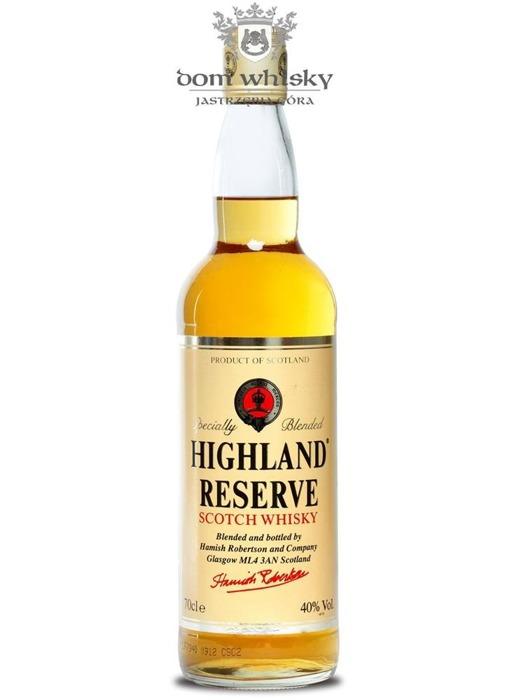 Highland Reserve Blended Scotch Whisky / 40% / 0,7l