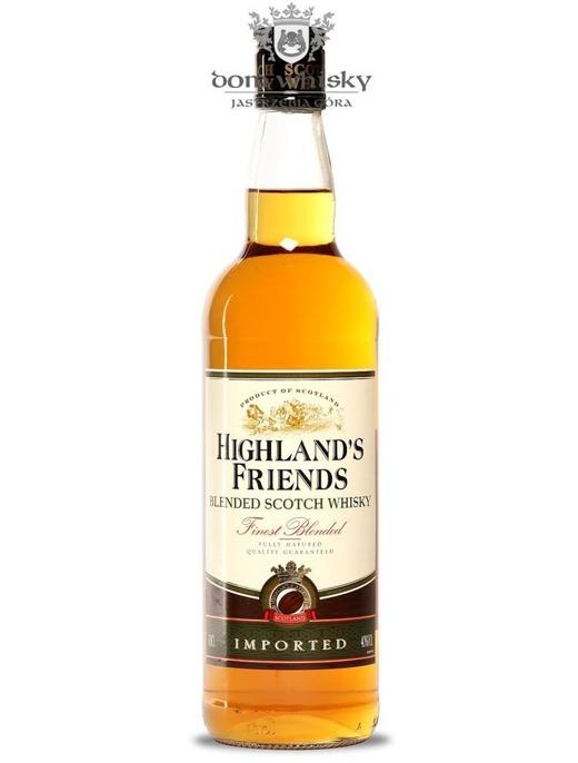 Highland's Friends Blended Scotch Whisky / 40% / 0,7l