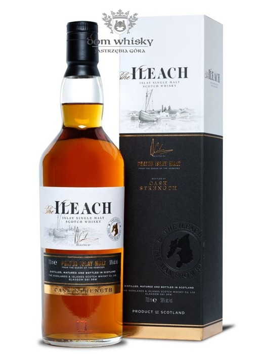 Ileach Peated Islay Malt Cask Strength /58%/0,7l