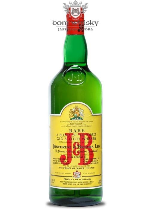 J&B Blended Scotch Whisky / Import. Milano / 40% / 1,0l