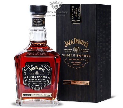 Jack Daniel's Single Barrel, Barrel Proof / 65,50%/0,75l