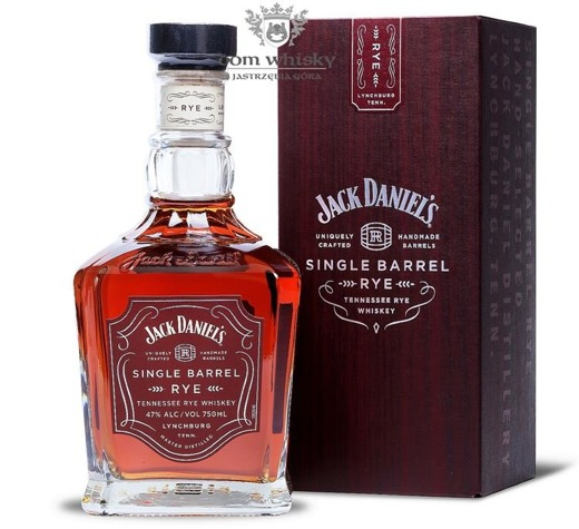 Jack Daniel's Single Barrel Rye / 47% / 0,75l