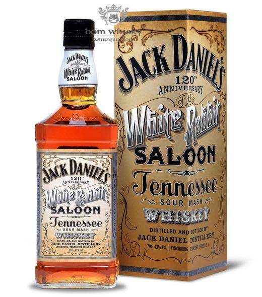Jack Daniel's White Rabbit Saloon 120 Anniversary /43%/0,7l