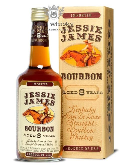 Jessie James 8 letni Bourbon / 40% / 0,7l