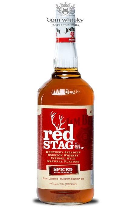 Jim Beam Red Stag Cinnamon / 40% / 1,0l