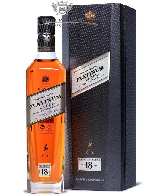 Johnnie Walker 18-letni Platinum Label / 40% / 0,7l