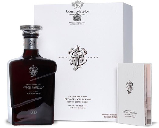 Johnnie Walker Private Collection Edition 2015 / 46,8% / 0,7l