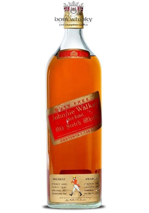 Johnnie Walker Red Label Duty Free / 43% / 1,125l