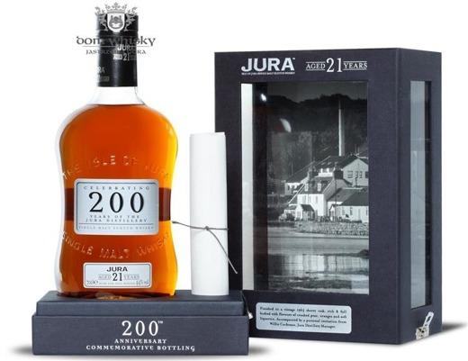 Jura 21-letnia, 200th Anniversary /44%/0,7l
